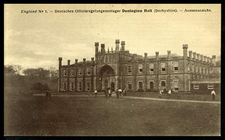 Donington Hall, Derbyshire (sic), United Kingdom